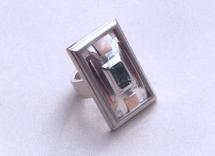 Žiedas kvadratinis